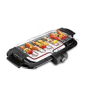 Grill BBQ Tipo coreano horno eléctrico Hogar máquina de barbacoa sin humo Bandeja eléctrica para hornear