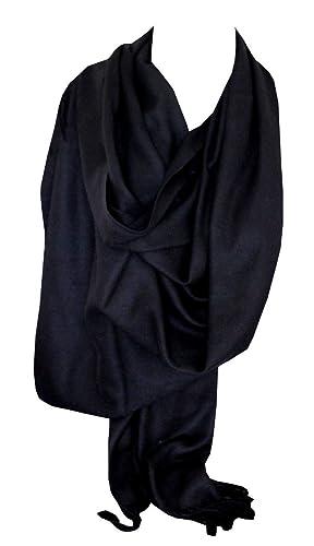 Alta calidad cachemira Pashmina colores sólidos de bufanda chal chuma