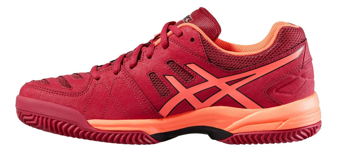 ASICS - Gel Padel Pro 3 SG, Color Rojo, Talla UK-6.5: Amazon.es: Deportes y aire libre