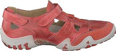Allrounder by Mephisto Women's Firelli Walking Shoe,Burnt Orange Dye Washed  Leat