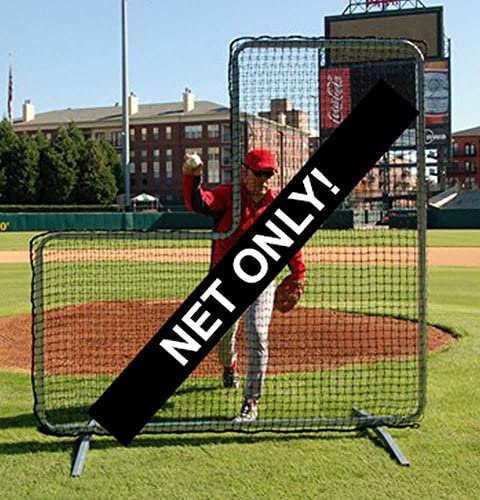 Trigon Sports Procage Pitcher s L-Screen Replacement Net, 7 x 7-Fet No frame included