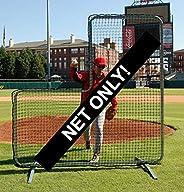 Trigon Sports Procage Pitcher's L-Screen Replacement Net, 7 x 7-FET (No Frame Inclu