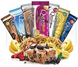 quest bars 36 - Quest Bars High Protein Gluten Free, Sampler Pack, 36-Bars