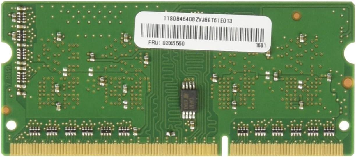 Lenovo RAM Memory 1 x 2GB DDR3 SDRAM 2 DDR3 1600 DDR3 0A65722