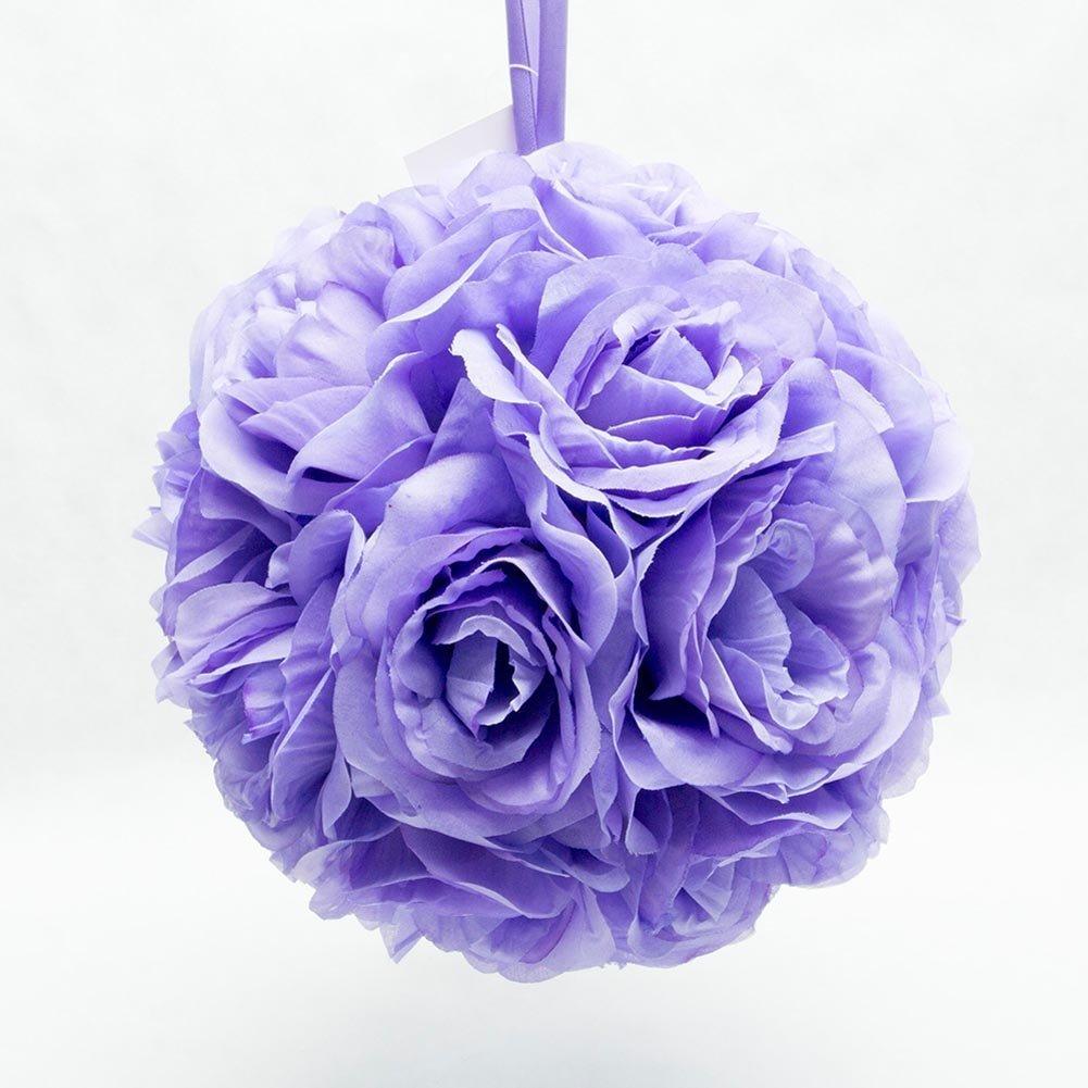 Ben-Collection-7-Pomander-Flower-Kissing-Ball-Multi-Color-Home-Wedding-Decoration-1-Lavender