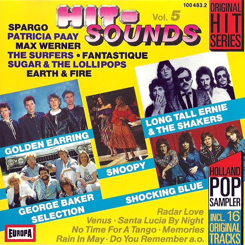 Search : 16 tolle Disco und Pop Songs von legendären Benelux Künstlern (CD)
