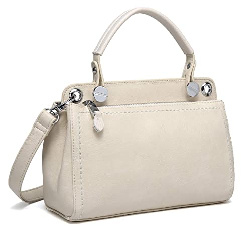 be341cd672a2 Kasqo Crossbody Bags for Women, Daily Trendy Ladies Top Handle Handbag  Purse Vegan PU Leather Shoulder Women Bag with Detachable Adjustable Strap