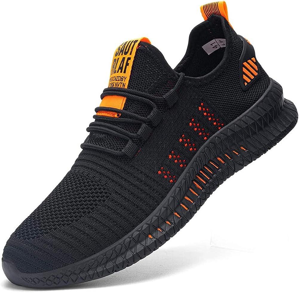 Kefuwu Herren Damen Sicherheitsschuhe S3 Arbeitsschuhe Sneaker Schutzschuhe Stahlkappe Leicht Atmungsaktiv