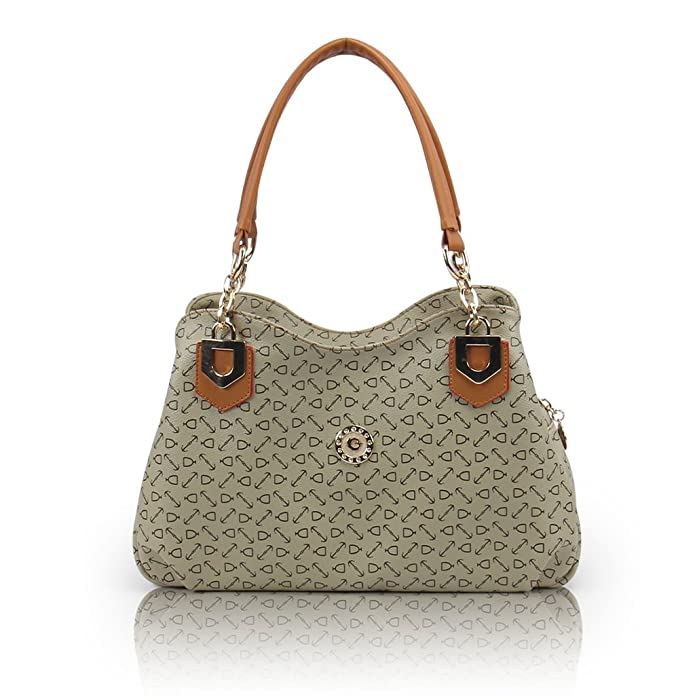 Amazon.com: Fashion BK PU bolso, Marrón, M: Shoes