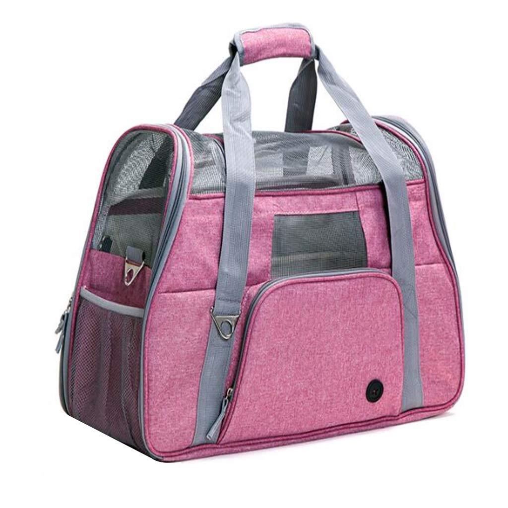 Portable Pet Bag, Folding and Ventilating Plus Large Outdoors Dog Pack Cat Bag, Teddy Single Shoulder Bag Rabbit Bag.