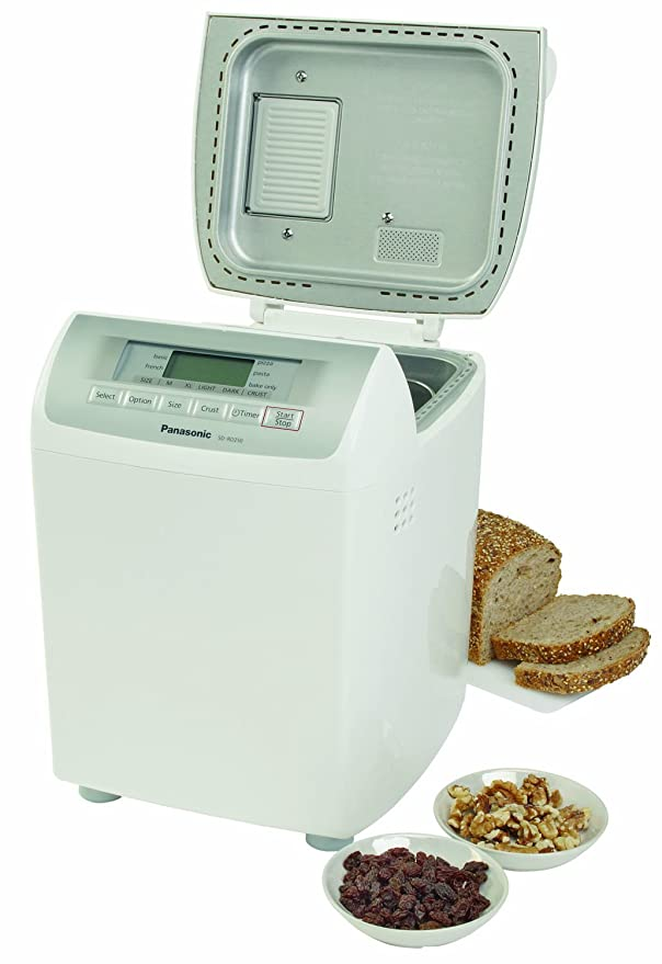 Panasonic Automatic Bread Maker - Panificadora (Blanco ...