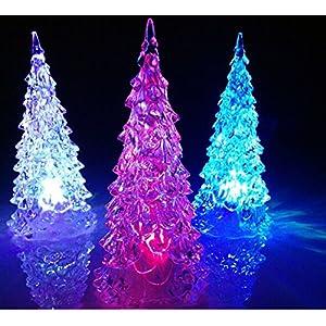 The-Fox Mini Desk Christmas Tree Coloured LED Light 38