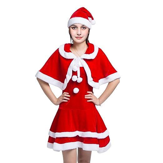 Amazon Com Cijihvuihuy Complete Christmas Santa Claus Costume Suit