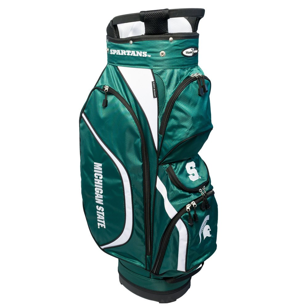 Team Golf NCAA Clubhouse Cart Bag, Michigan State by Team Golf (Image #1)