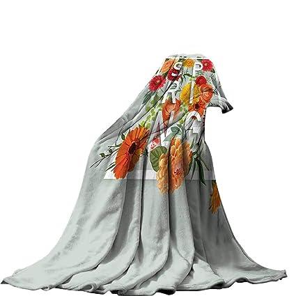 39cb87263f9a0 Amazon.com: QINYAN-Home Plush Throw Blanket(60