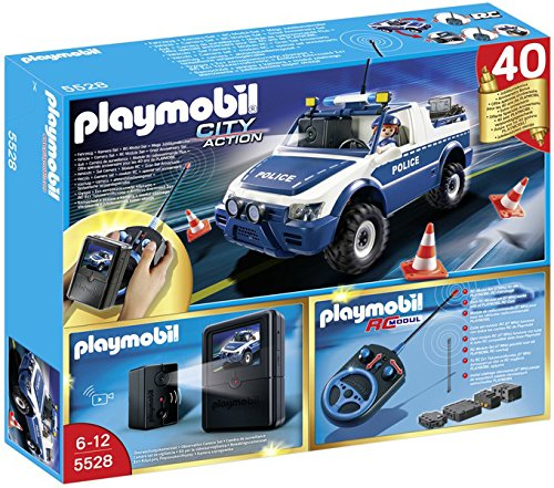 PLAYMOBIL RC Police Car with Camera Playset (Rc Police Car With Camera)