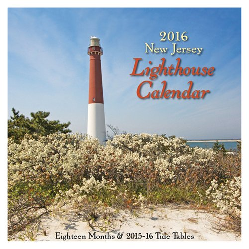 New Jersey Lighthouse Calendar 2016
