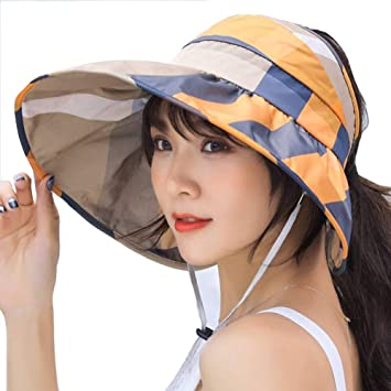 YL-light Sombreros de Pesca Sol para Mujer Gorro de protección UV ...