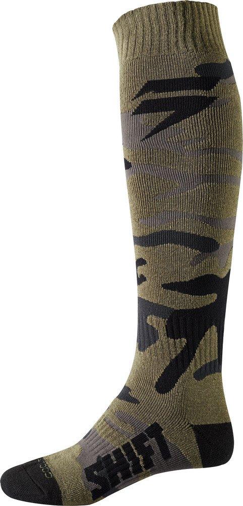 Shift White Label Socks-Fat Camo-S/M