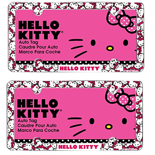 hello kitty car tag - 7