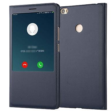 Funda para Xiaomi Mi MAX Carcasa Libro Cuero PU Tapa Flip Case + ...