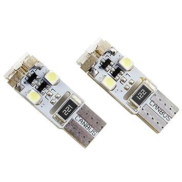 Superlite BOM12636 Bombillas Posición Súper 8 LED sin Casquillo Blanco