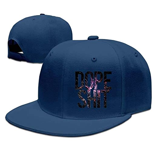 Image Unavailable. Image not available for. Color  Dope Shit Unisex Hat  Mens Womens Baseball ... aa100f164ca