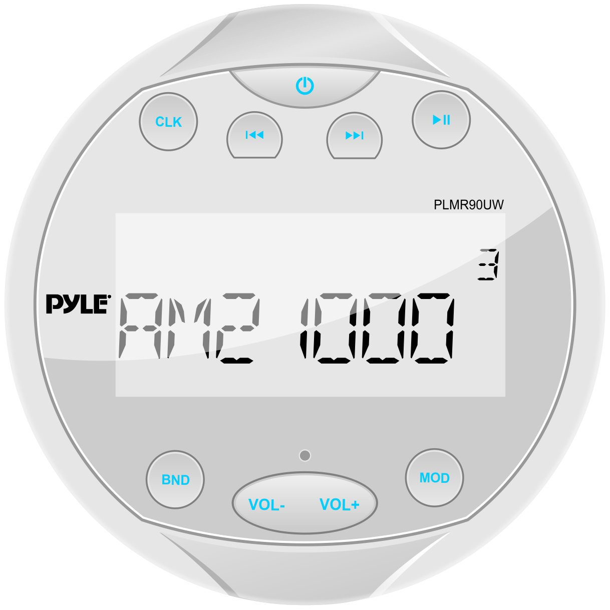 611PS7YMFaL._SL1218_ amazon com pyle plmr90uw hydra waterproof bluetooth marine  at crackthecode.co
