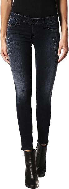 Diesel Skinzee-Low-Zip 084HZ Jeans Donna Skinny