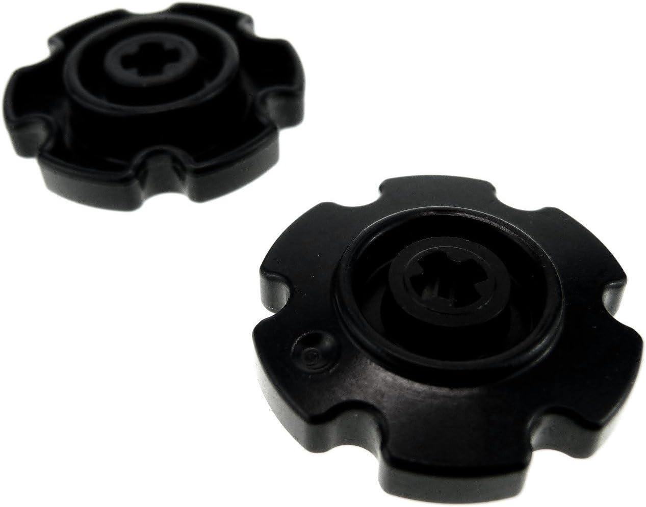 LEGO 2 x Technic Ketten Antriebsrad Schwarz Klein Führungsrad Kettenräder Raupe Tread Sprocket Wheel Small Rad 75903 57520