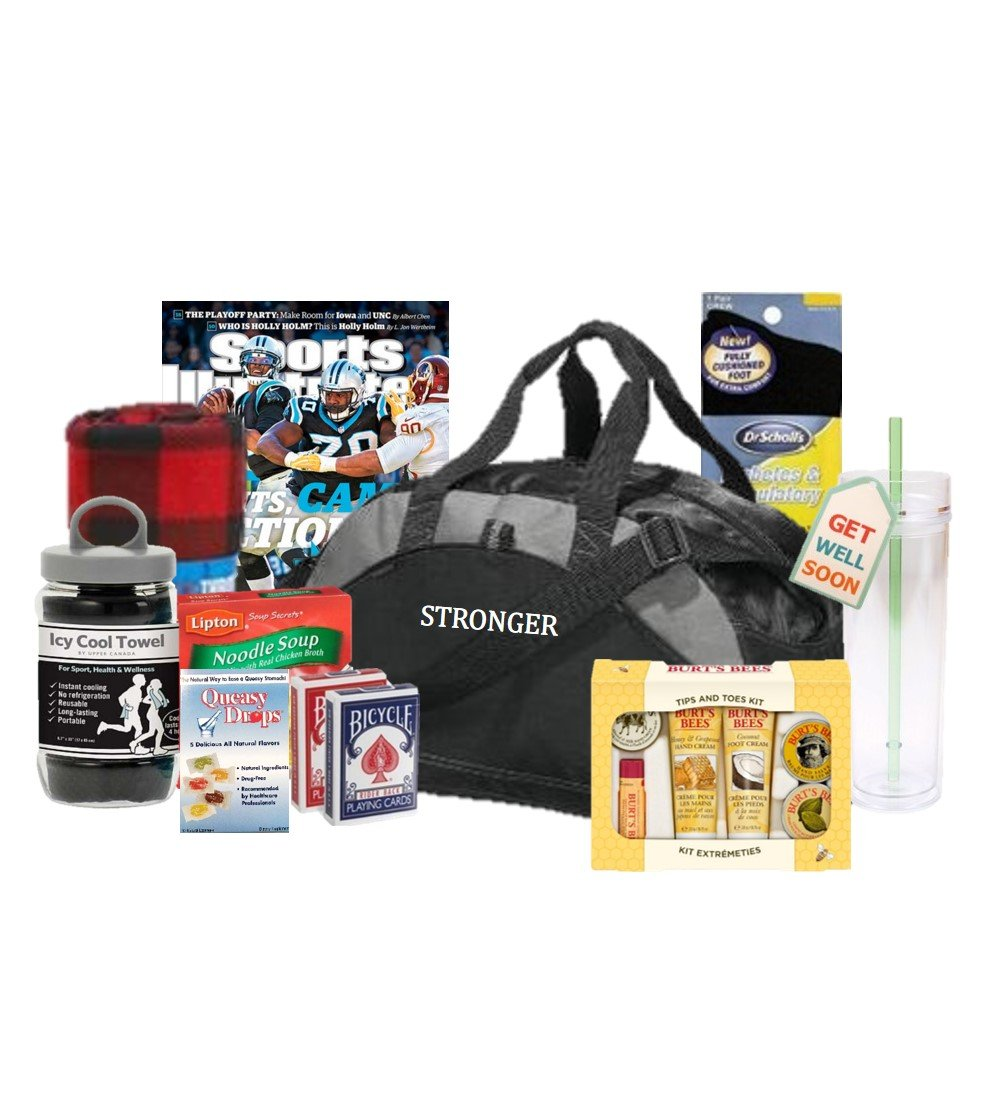 Stronger Than Cancer Care Package - Gym Bag