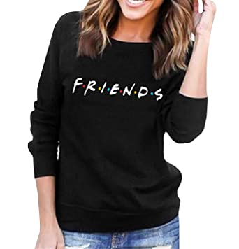 Womens Teen Girls Friends TV Show Hoodies Fall Winter Crewneck Sweatshirts  Fleece Pullover Tops at Amazon Women s Clothing store  db7dcae48