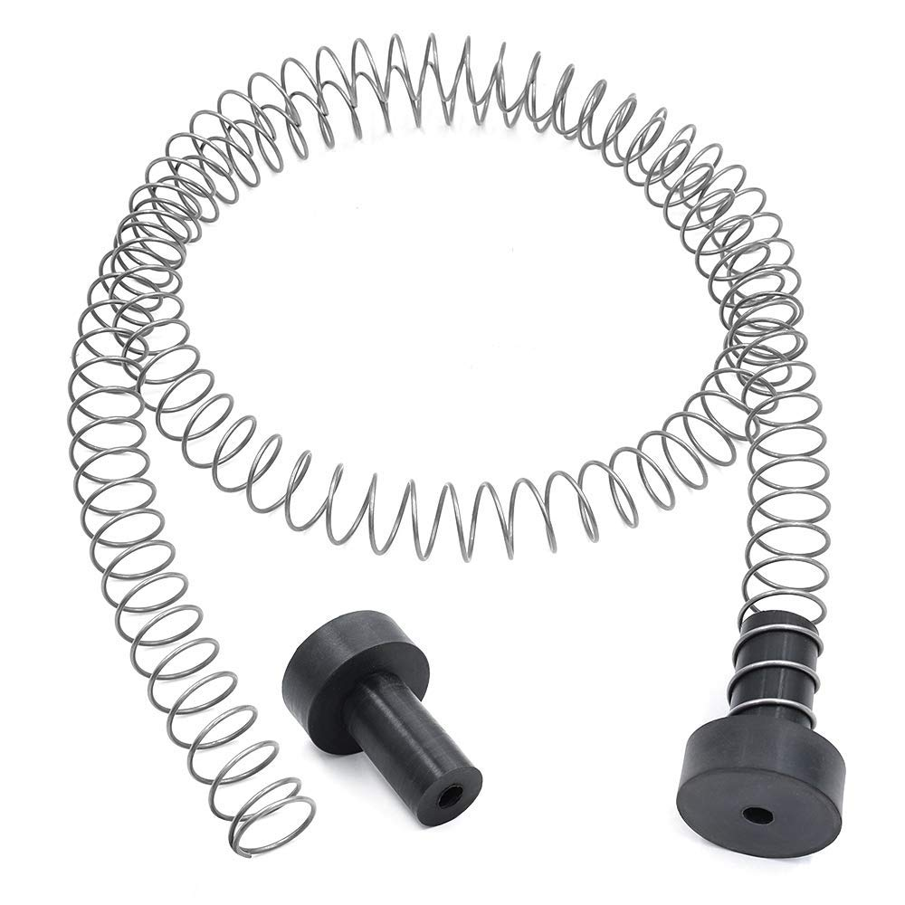 Zixar Zipline Stopper, Kids Backyard Zip Line Spring Stop / Brake Kit System 5.3ft, Zipline Parts for 3/16 1/4 5/16 3/8 Inches Cable ... by Zixar
