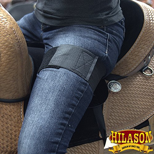 HILASON-ANTI-SLIP-GRIP-HORSE-WESTERN-SADDLE-SEAT-COVER-BARREL-TRAIL-SHOW-RIDING-BLACK