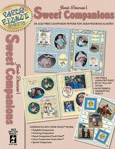 Janie Dawson's Sweet Companions Scrapbooking Papers Book - HOTP - Hotp Scrapbooking