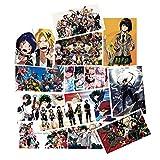 DOFE 50 PCS Boku no Hero Academia Stickers,Laptop