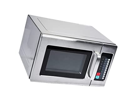 Microwave Special Offer Stainless Steel Commercial Microwave with Push Button Control - 120V, 1200W Now