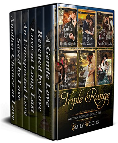Triple Range Western Romance Boxed Set: Books 1-6 cover