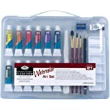 Royal & Langnickel Essentials Clear View Small Case Watercolour Art Set