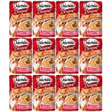 Delectables Bisque Senior 15 Years + Lickable Wet Cat Treats - Tuna & Chicken - 12 Pack - 3270015471