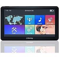 SATNAV GPS Sistema de navegación, Jimwey 8 GB 256 MB Coche satélite navegador