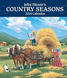 John Sloane's Country Seasons 2015 Monthly/Weekly Planner Calendar