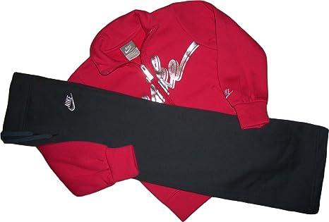 Nike Girls Suit. Sudadera y Pantalones con Pierna Abiertos. Suave ...