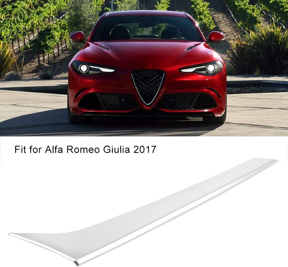 ABS Decorazione per consolle centrale cromata Copertura adatta per Alfa Romeo Giulia 2017 Decorazione per consolle centrale