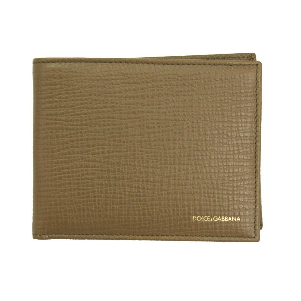 Dolce /& Gabbana Mens Brown Leather Bi-fold Wallet Bp0457 A1001 80023
