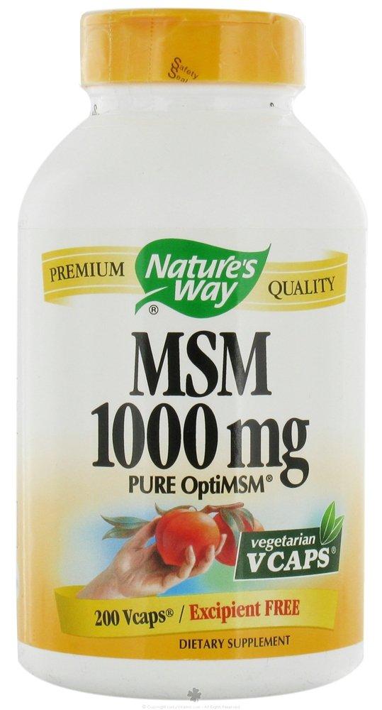 Nature'S Way Msm 1000Mg 200 Tab