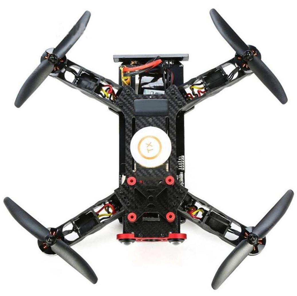 Dreamyth Super Awesome Eachine Racer 250 FPV Quadcopter Built-In 5.8g Transmitter, OSD, FPV Monitor BNF (Black) by Dreamyth