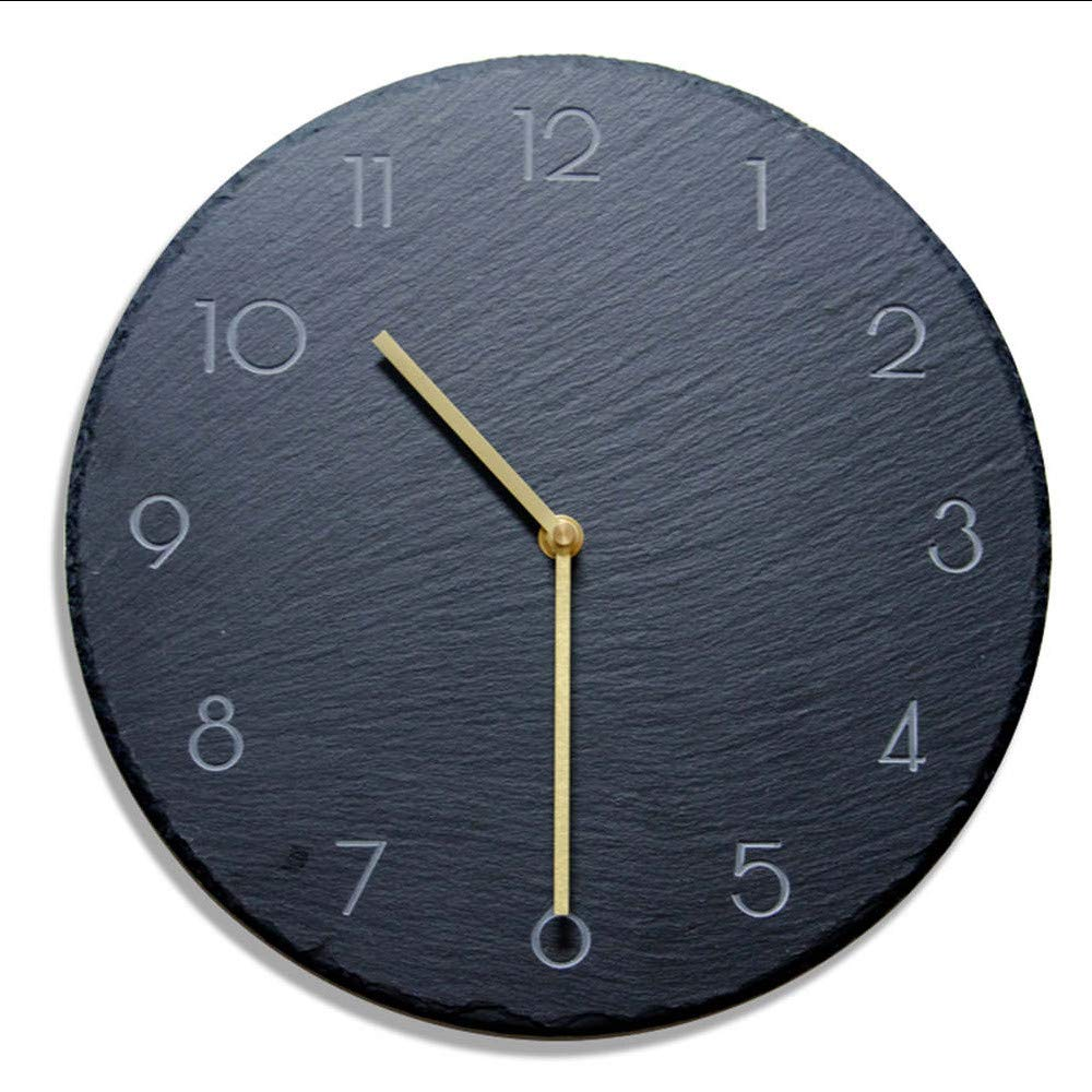 myvovo)12 Pizarra Creativa Relojes de Pared de Roca Sala de ...