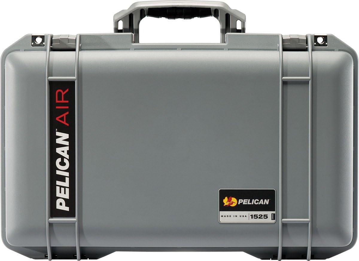 Pelican Colors series Silver Pelican 1525 case NO Foam.