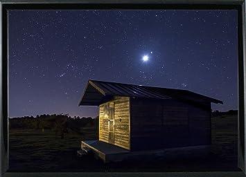 Amazoncom Frame Usa Sun Or Moon Framed Print 115x1675 By